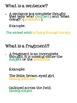 Sentences vs. Fragments Pack