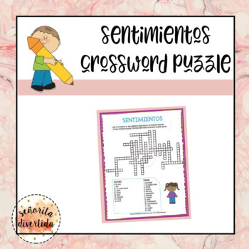 Sentimientos Crossword Puzzle