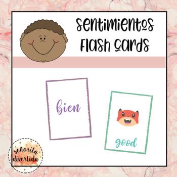 Sentimientos Flash Cards