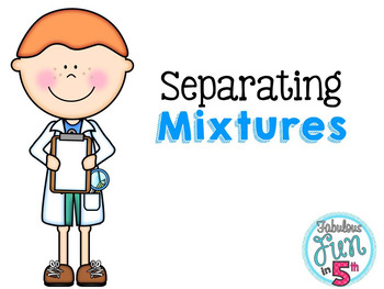 Separating Mixtures: PowerPoint and Foldable