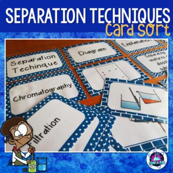 Separation Techniques Card Sort