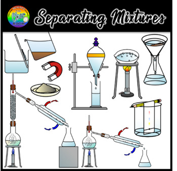 Separating Mixtures Clipart