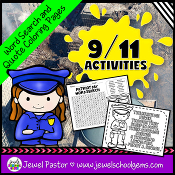 September 11 Word Search