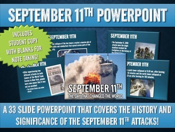 September 11 - PowerPoint with Student Handout! (33 Slides)