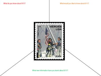 September 11 Vision Frame Graphic Organiser