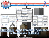 September 11th 9/11 Editable Graphic Organizers and Resources