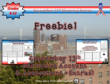 September 11th 9/11 Narrative Account and Assessment FREEBIE