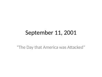 September 11th Powerpoint