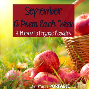FREE - A Poem Each Week (September Edition)