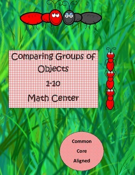 Marching Ants Comparing Groups of Objects K.CC.6 Math Stat