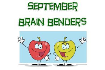 September Brain Benders