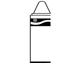 Crayon template to Cut out