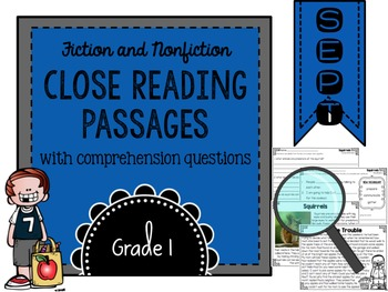 September Close Reading Practice