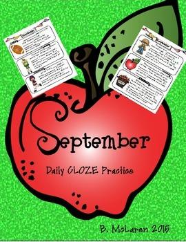 September Daily CLOZE Practice