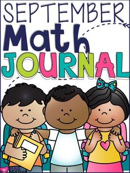 September Daily Math Journal