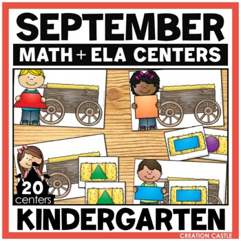September Kindergarten Centers - Math and Literacy
