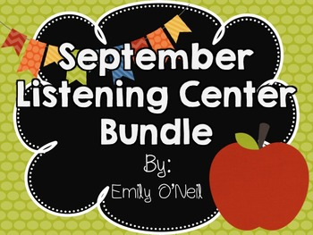 September Listening Center Bundle