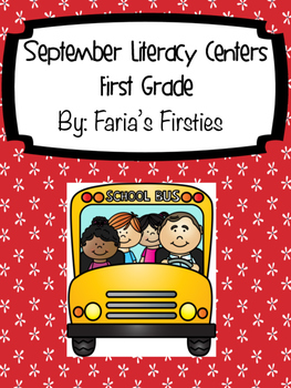 September Literacy Centers Bundle