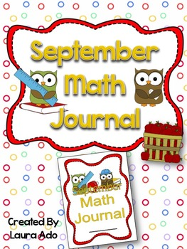 September Math Journal to fit CCSS Numbers and Algebric Th
