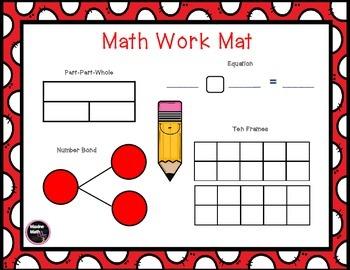 September Math Work Mat