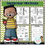 September Mini Books...Just print, fold, read!