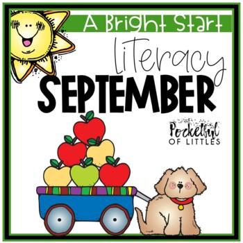 September Morning Bright {Kindergarten Literacy Morning Work}