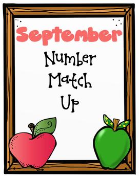 September Number Match Up