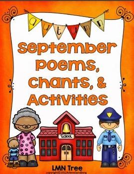 September Poems, Chants, & Activities