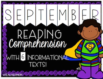 September Primary Informational (Non-Fiction) Text Pack {#