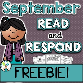 September Reading Comprehension & Written Response FREEBIE!