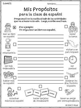 September Spanish Activity Pack FREEBIE (Actividades para