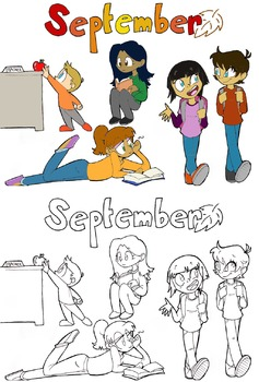 September Stickers Pack