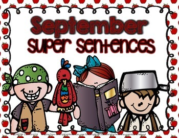 September Super Sentences