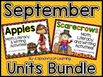 September Thematic Units BUNDLED