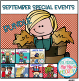 September Themed Bundle...Constitution Day, Labor Day, Unc