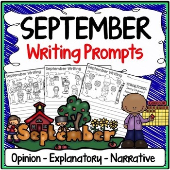 September Writing Prompts {Narrative Writing, Informative
