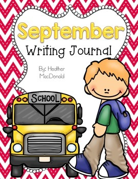September Writing Journal Covers