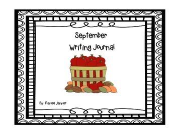 September Writing Journals