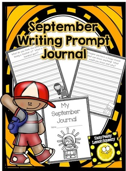 September Writing Prompt Journal