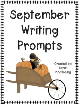 September Writing Prompts (More Back to School and Fall Fun!)