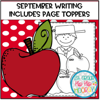 September Writing with Page Toppers...simple crafts and wr