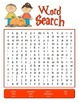 September fall crossword and wordsearch