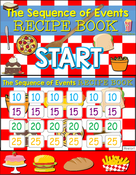 Sequence Jeopardy Style Game Show (Recipe Book)