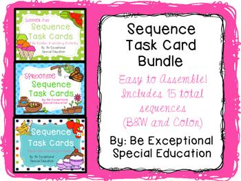 Sequence Task Card Bundle