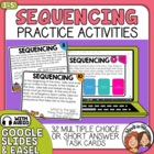 Sequence of Events Task Cards: Short Passages Sequencing.
