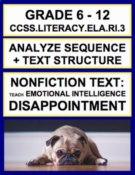 Sequence + Text Structure with SEL Nonfiction Article: Dis