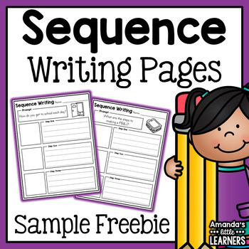 Sequence Writing Prompts - Sample Freebie