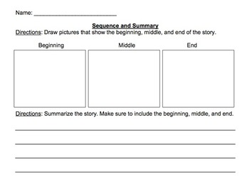 Sequence and Summarize
