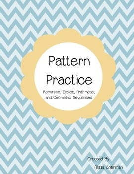 Sequences - Pattern Practice