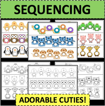 Sequences Sequencing Templates Cute and Fun Activity Game